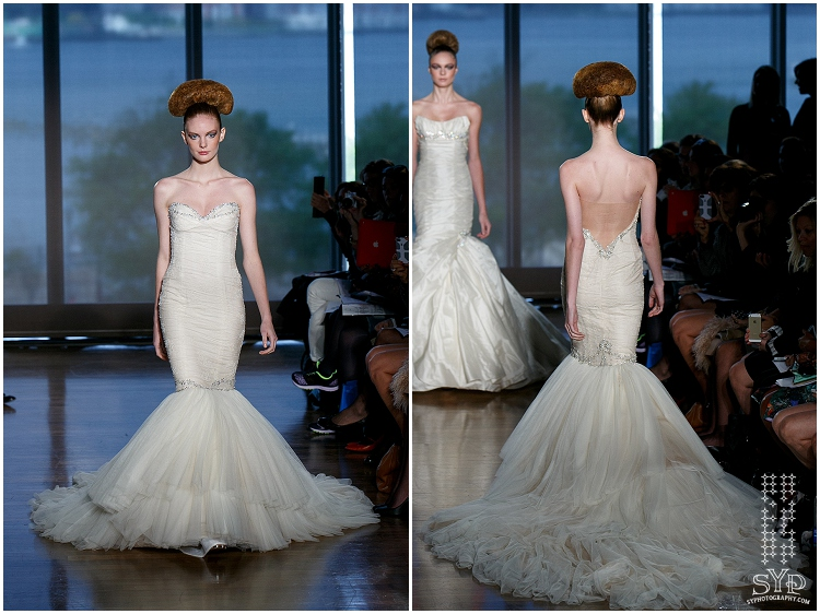 Ines DiSanto 2014 Bridal collection  | SYPhotography