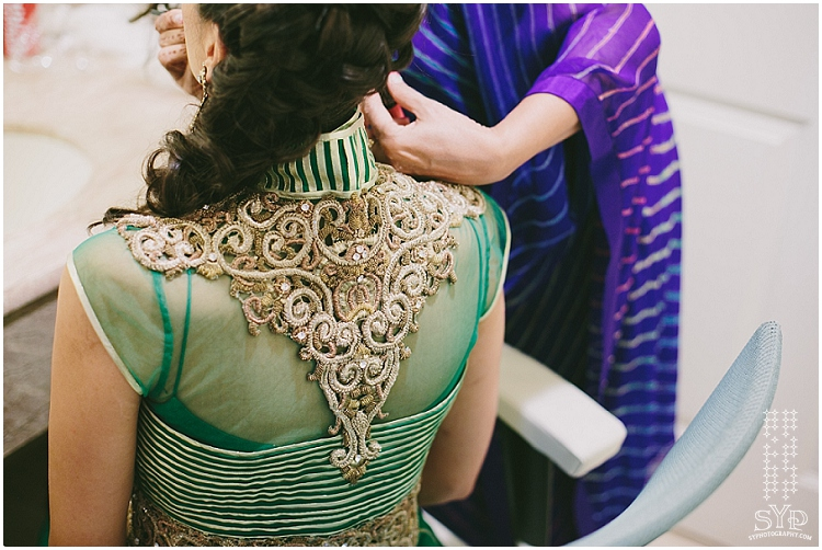 wedding lehnga details