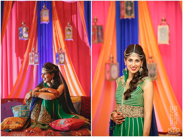 NJ wedding photographer Mehndi bride